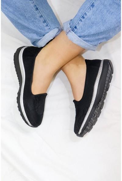Mammamia D21YA-680 Hafızalı Ped Textil Kadın Ayakkabı