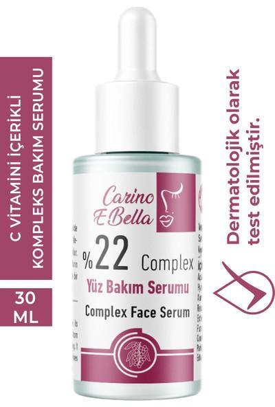 Carino E Bella Complex C Vitamini Serum %22 Professional Series 30 ml