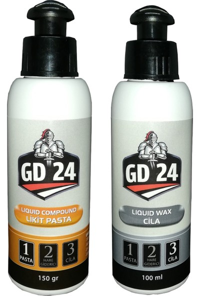 GD24 Likit PASTA-150 gr + GD24 Likit CILA-100 ml