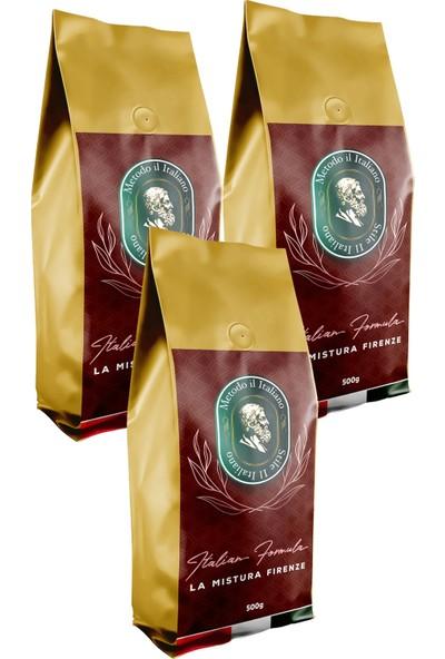 Socrates Filtre Kahve 500 gr Firenze 3 Lü