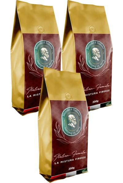 Socrates Filtre Kahve 200 gr Firenze 200 gr 3 Lü