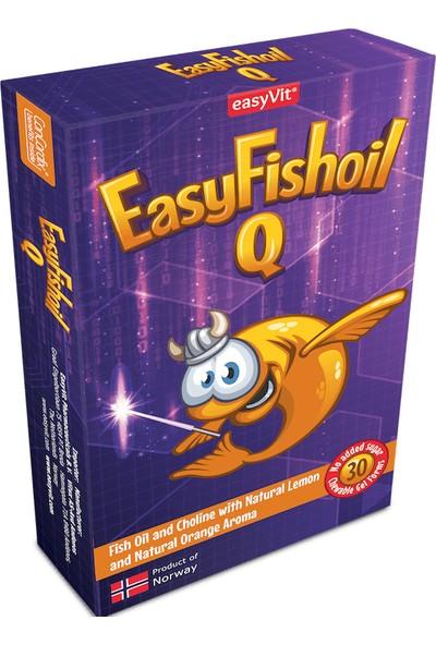 Easyfishoil Q Omega 3 Çiğnenebilir 30 Jel Tablet