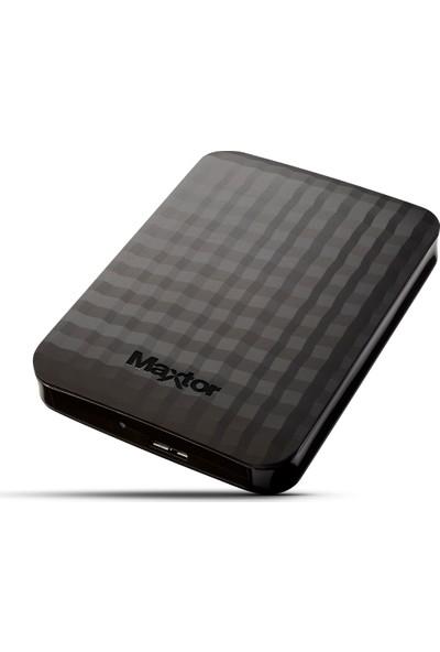 """Maxtor Maxtor M3 STSHX-M500TCBM 500GB 2.5"""" USB 3.0 Taşınabilir Disk Siyah"""