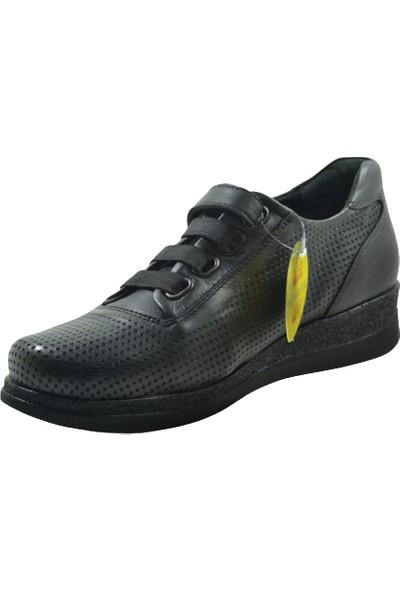 Mammamia D21YA-3075-Y Topuklu Bayan Ayakkabı - Siyah - 37
