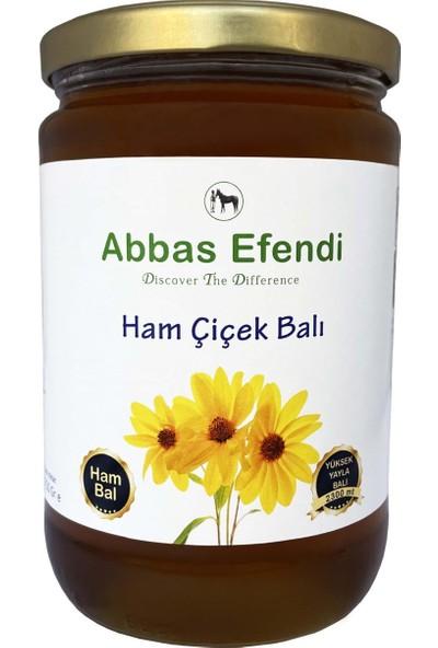 Abbas Efendi Ham Çiçek Balı 1,25 kg