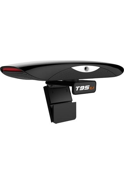 Vontar T95C1 2gb 16GB Kameralı Tv Kutusu Android 9.0 Konferans Tv Box