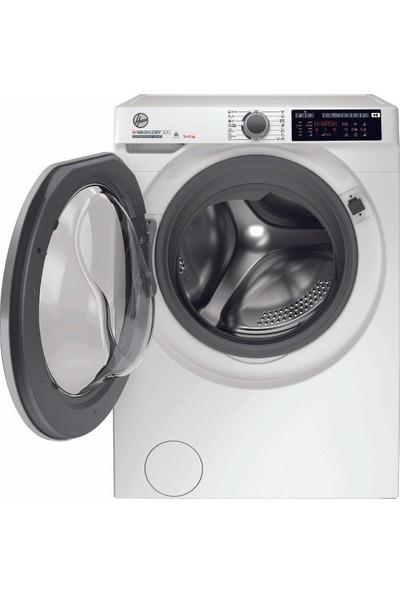 Hoover HDQ 4119AMBS/1-S A 11 kg Yıkama 9 kg Kurutma Wi-Fi Bluetooth Bağlantılı 1400 Devir Kurutmalı Çamaşır Makinesi