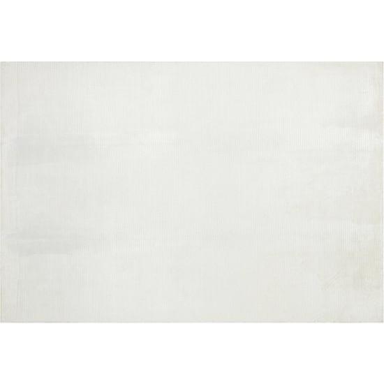 Allmode Rugloom Plain White El Dokuma Halı