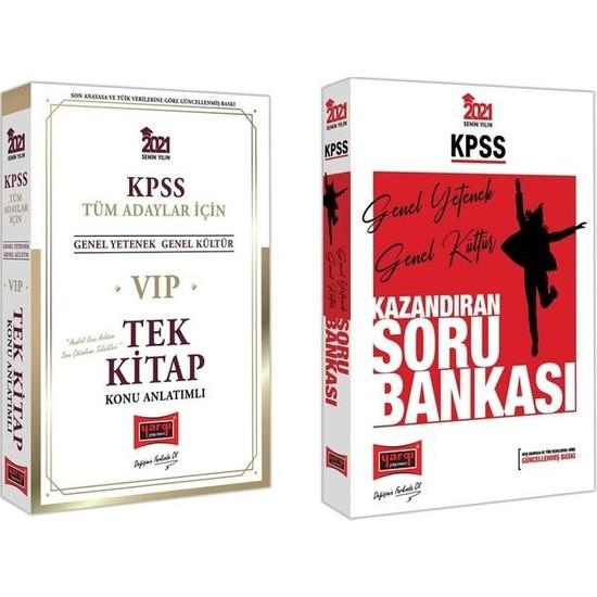 Yargı Yayınevi Yargı Yayınları 2021 KPSS Genel Yetenek Genel Kültür Konu Anlatımlı + Soru Bankası Seti