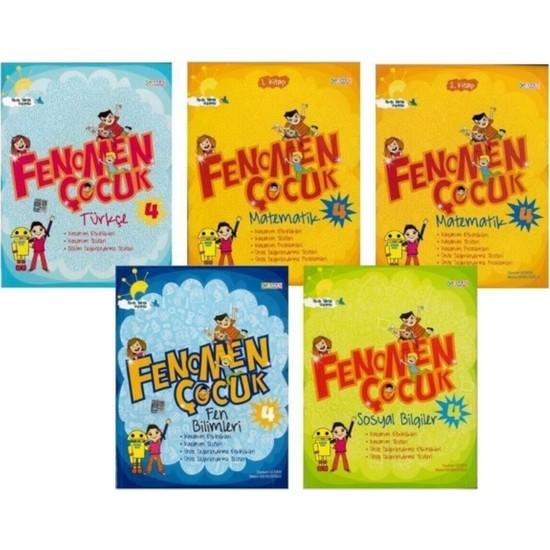 Gama Okul Fenomen Çocuk 4. Sınıf Set - 5 Kitap