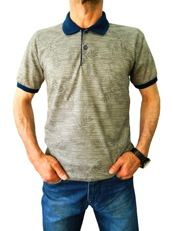 Bigazzi Erkek Baskılı Pike Lyc Tshirt 3257