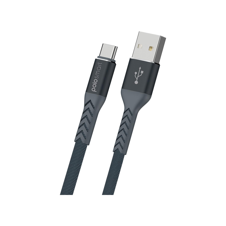 Polosmart PSM38 Type-C Süper Hızlı Şarj ve Data Kablosu 50cm Fiyatı