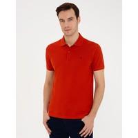 Pierre Cardin Kiremit Slim Fit Polo Yaka Basic T-Shirt 50239843-VR031
