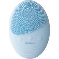 RossClean Pro Yüz Temizleme ve Masaj Cihazı -5 Kademeli -Fototerapi Modu -Kablosuz Şarjlı- Mavi