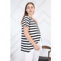 Hamile Çizgili Bluz
