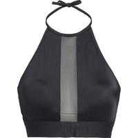 Calvin Klein KW0KW00570 Siyah Halter Kesim Bikini Üstü