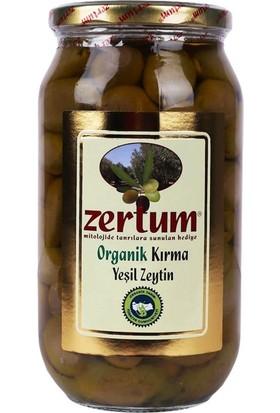 Zertum Organik Kırma Yeşil Zeytin 1000 gr