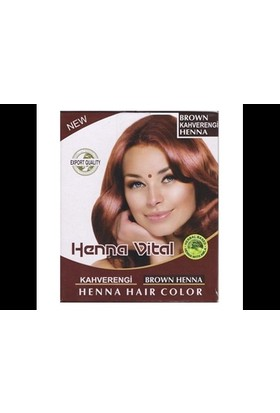 Henna Vital Kına Kahverengi