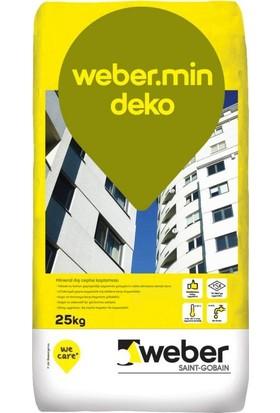 Weber Weber.mineral Deko Sıva Beyaz 2mm 25 kg