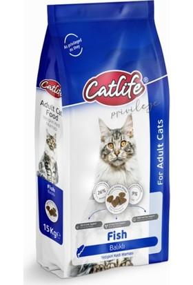 Catlife Balıklı Yetişkin Kedi Maması 15KG