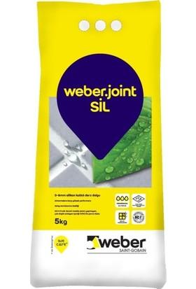 Weber Joint Sil Açık Gri 5 kg Derz Dolgu