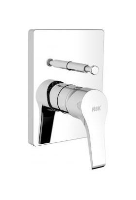 Nsk Vısıa Ank.banyo Bataryası-Prizmatik Sıvaüst Krom N2131402