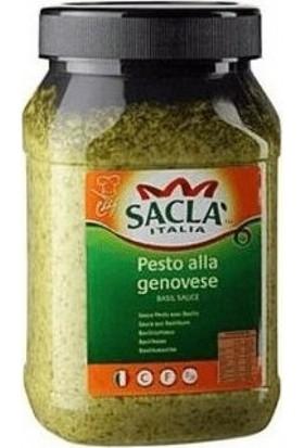 Sacla Fesleğenli Makarna Sosu (Pesto Alla Genovese) 950 gr