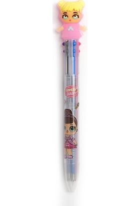 Vuki Tükenmez Kalem Pembe 6'lı