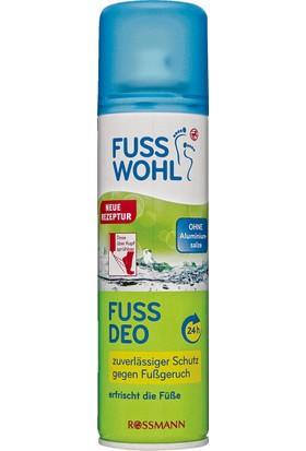 Fusswohl Ayak Deodorantı 200 ml 24H Etkılı