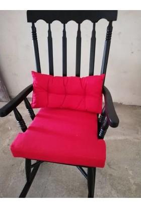Zerka Rengin Siyah Sallanan Sandalye & Tv Koltuğu