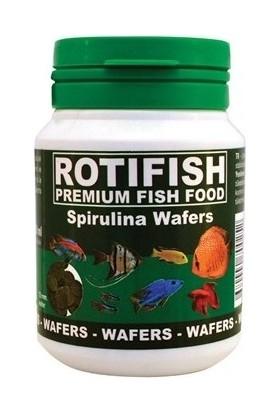 Rotifish Spirulina Wafers 250 ml 105 Gr. 6 Lı Balık Yemi