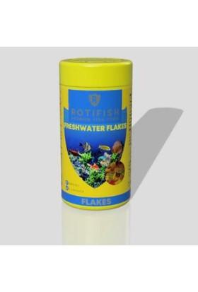 Rotifish Freshwater Flakes 1000 ml 125 Gr. Balık Yemi
