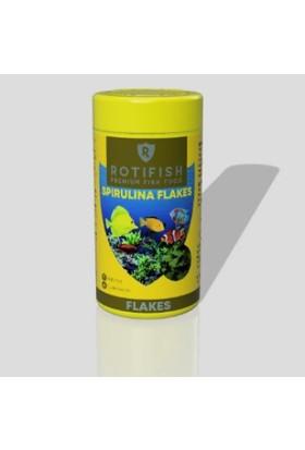 Rotifish Spirulina Flakes 1000 ml 90 Gr. Balık Yemi