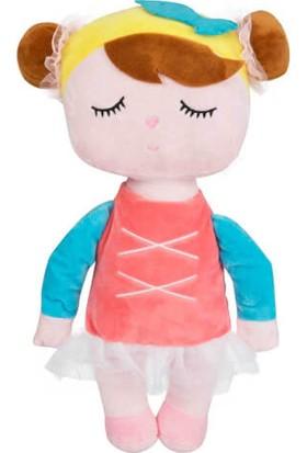 B-Plush Angela Bebek Uyku Arkadaşı Elbiseli 42 Cm. Pembe Elbise