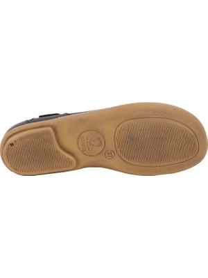 Venüs Siyah Deri Kadın Günlük Ayakkabı 1911311Y