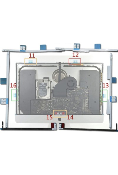 İntense Keratin Intense Keratin iMac Ekran Yapıştırma Bandı A1419 (27 Inç)