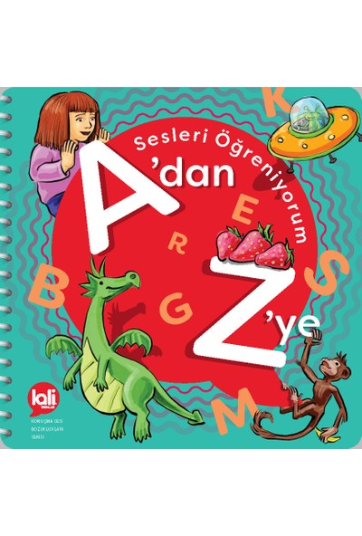 Lali Yayınları A'dan Z'ye Sesleri Öğreniyorum Konuşma Sesi Bozuklukları Serisi