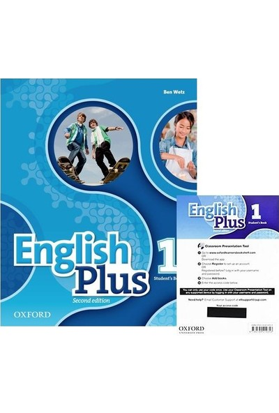 English Plus: Level 1 (Student's Book+Access Code)