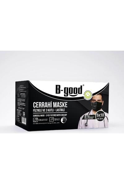 B-Good Cerrahi Maske Siyah