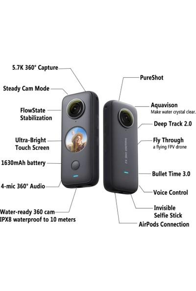 Insta 360 One X2 - 360 Aksiyon Kamerası