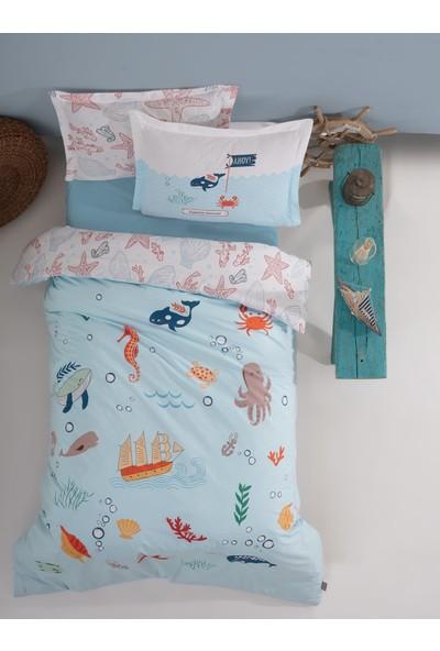 Soley Ocean Mavi Rnf Çocuk Dört Mevsim Set