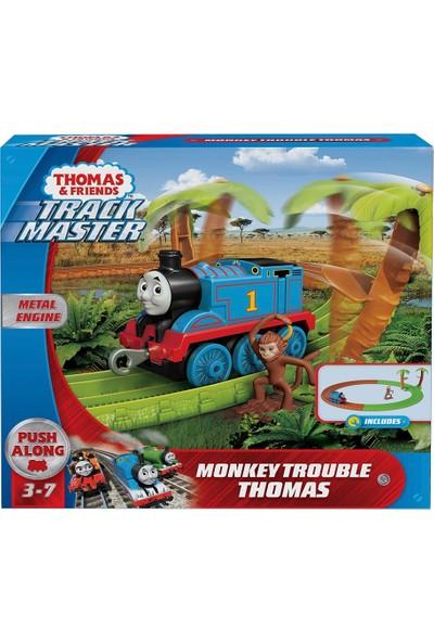 Thomas & Friends GJX83 Tf Afrikada Oyun Seti -Sür-Bırak Trenli /thomas ve Arkadaşları Trackmaste