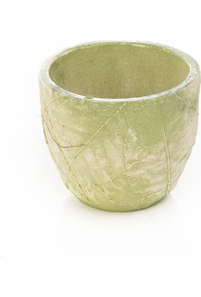 Garba Donna Yeşil Yaprak Saksı