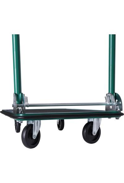 Vonroc Platform Arabası / Taşıma Arabası - Katlanabilir - Yük Kapasitesi Maks. 150 kg