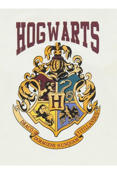 Harry Potter Kız Çocuk Sweatshirt 10-13 Yaş Ekru