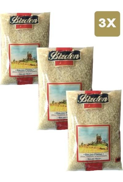 Bizden Baldo Pirinç 1 kg x 3'lü