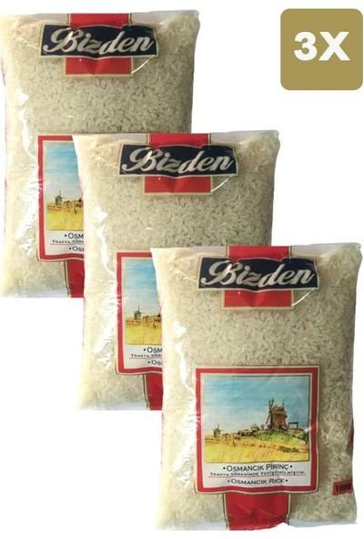 Bizden Osmancık Pirinç 1 kg x 3'lü