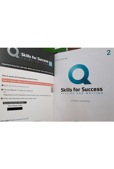 Oxford University Press Q Skills For Success 2 - Reading And Writing With Online Practice