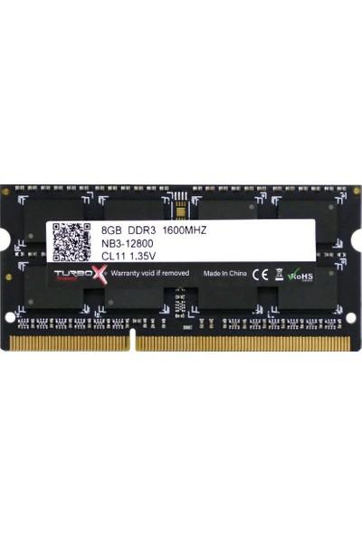 Turbox Evorion X 8GB DDR3 1600MHZ NB Ram