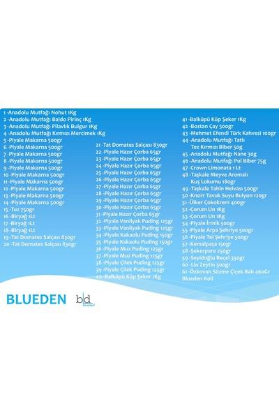 Blueden Ramazan Erzak Kumanya Yardım Gıda Paketi Paketi 61 Parça 140 Nolu Paket